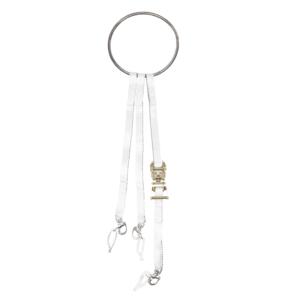 Geschweißter Ring, dreiteilige Schlinge mit Haken und Ratsche
